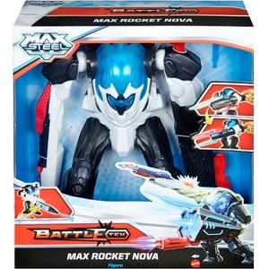 Робот Mattel Max steel турбо макс с ракетным арсеналом (CDX45)