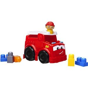 Конструктор Mattel Mega bloks first builders пожарная машина фредди (CND63)