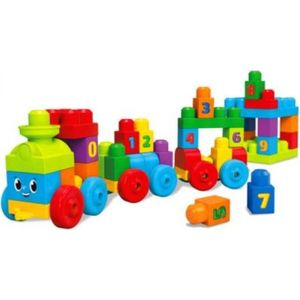 Конструктор Mattel Mega bloks first builders поезд учимся считать (DKX60) от ТЕХПОРТ