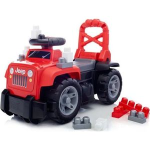 Конструктор Mattel Mega bloks большой красный джип 3 в 1 (DBL13) от ТЕХПОРТ