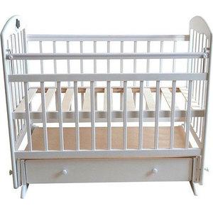 Кроватка Briciola Briciola-11 маятник поперечный ящик автоматическая белая (BR1101)