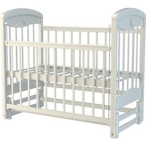 Кроватка Briciola 2 маятник продольный автоматическая белая (BR0201)