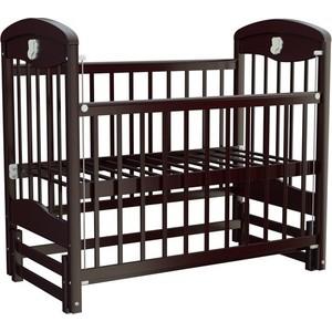 Кроватка Briciola Briciola-2 маятник продольный автоматическая темная (BR0207)