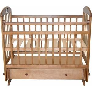 Кроватка Briciola Briciola-8 маятник поперечный ящик автоматическая светлая (BR0805) обычная кроватка уренская мебельная фабрика мишутка 14 светлая ящик