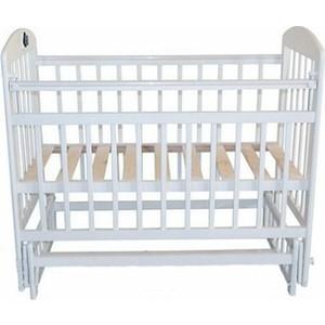 Кроватка Briciola 9 маятн продольный автоматическая белая (BR0901)