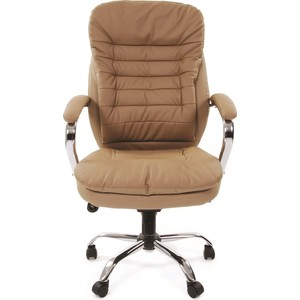 Офисное кресло Chairman 795 ЭКО бежевый кресло карповое tramp chairman trf 031