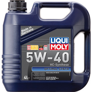 Моторное масло Liqui Moly Optimal Synth 5W-40 4 л 3926