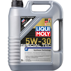 Моторное масло Liqui Moly Special Tec F 5W-30 5 л 8064 присадка liqui moly benzin system pflege для ухода за бензиновой системой впрыска 0 3 л