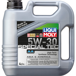 Моторное масло Liqui Moly Special Tec AA 5W-30 4 л 7516