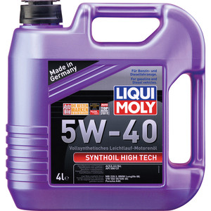 Моторное масло Liqui Moly Synthoil High Tech 5W-40 4 л 1915