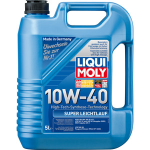 Моторное масло Liqui Moly Super Leichtlauf 10W-40 5 л 1929