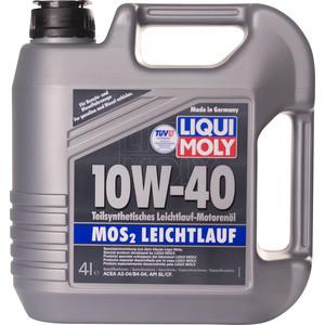 Моторное масло Liqui Moly MoS2 Leichtlauf 10W-40 4 л 1917