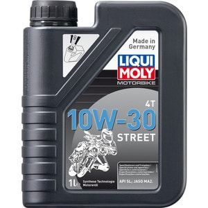 Моторное масло Liqui Moly Motorbike 4T Street 10W-30 1 л 2526