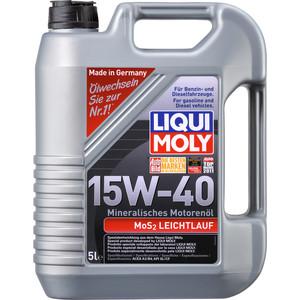 Моторное масло Liqui Moly MoS2 Leichtlauf 15W-40 5 л 1933