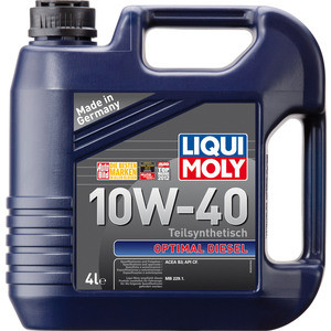 Моторное масло Liqui Moly Optimal Diesel 10W-40 4 л 3934