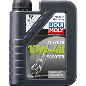 �������� ����� Liqui Moly Scooter Motoroil Synth 4T 10W-40 1 � 7522