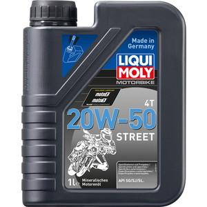 Моторное масло Liqui Moly Motorrad 4T 20W-50 1 л 7632
