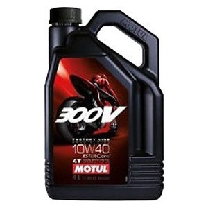 Моторное масло MOTUL 300 V 4T FL Road Racing 10w-40 4 л моторное масло motul 7100 4t 10w 60 4 л