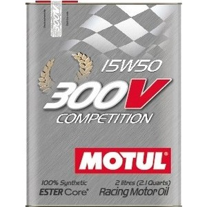 Моторное масло MOTUL 300 V COMPETITION 15W-50 2 л моторное масло motul 5100 4t 15w 50 1 л