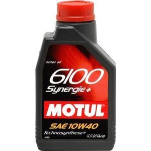 Моторное масло MOTUL 6100 Synergie Plus 10W-40 1 л моторное масло motul 5100 4t 10w 50 1 л