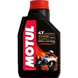 Моторное масло MOTUL 7100 4T 10w-40 1 л моторное масло motul power lcv ultra 10w 40 5 л