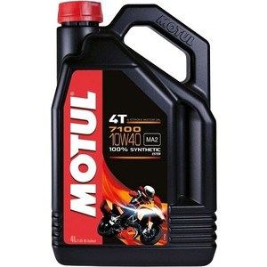 Моторное масло MOTUL 7100 4T 10w-40 4 л моторное масло motul 300 v 4t fl road racing 10w 40 4 л
