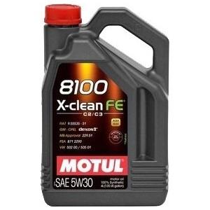 Моторное масло MOTUL 8100 X-Clean FE 5w-30 4 л масло моторное motul 8100 eco lite синтетическое 5w 30 5 л