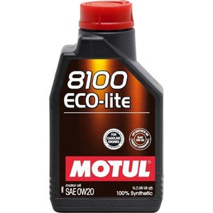 Моторное масло MOTUL 8100 Eco- lite 0w-20 1 л моторное масло motul 8100 eco nergy 0w 30 5 л