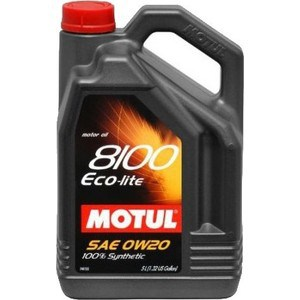 Моторное масло MOTUL 8100 Eco- lite 0w-20 5 л моторное масло bp visco 7000 0w 40 4 4 л