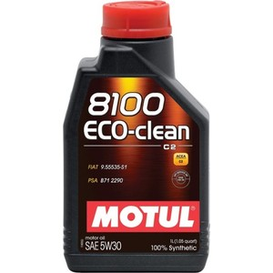 Моторное масло MOTUL 8100 Eco-clean 5w-30 1 л моторное масло motul power lcv ultra 10w 40 5 л