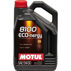 Моторное масло MOTUL 8100 Eco-nergy 5w-30 5 л моторное масло motul inboard 4t 15w 40 5 л