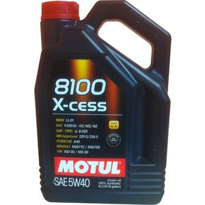 Моторное масло MOTUL 8100 X-cess 5w-40 4 л моторное масло motul atv power 4t 5w 40 4 л