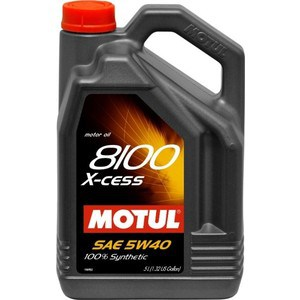 Моторное масло MOTUL 8100 X-cess 5w-40 5 л моторное масло motul atv power 4t 5w 40 4 л