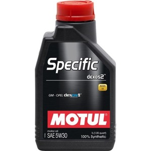 Моторное масло MOTUL SPECIFIC DEXOS2 5w-30 1 л моторное масло motul power lcv ultra 10w 40 5 л