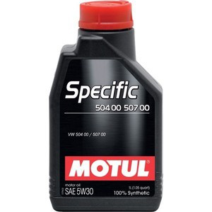 Моторное масло MOTUL Specific VW 504/00/507/00 5w-30 1 л motul specific ll 04 bmw 5w 40 5 л