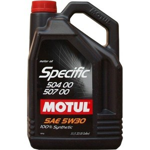 Моторное масло MOTUL Specific VW 504/00/507/00 5w-30 5 л motul marine 4t 10w30