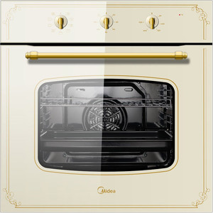 Электрический духовой шкаф Midea 65DME40003 электрический шкаф midea 65dme40003 бежевый