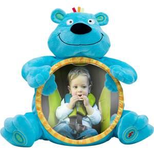 Зеркальце WeeWise детское в автомобиль Мишка (30110) weewise развивающая музыкальная дуга джунгли