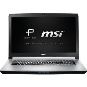 Ноутбук MSI PE70 6QE Skylake (9S7-179542-063) Silver