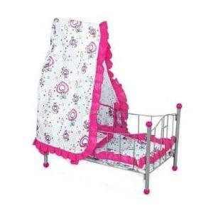 Кукольная кроватка Fei Li Toys розова (FL988) цена и фото