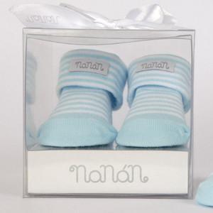 Носки детские NaNan светло-голубая полоска (E12INCAL1A)
