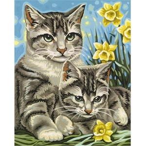 Раскраска Schipper Кошка с котенком (9240437)