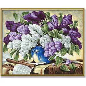 Раскраска Schipper Сирень в вазе (9130324)