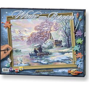 Раскраска Schipper Горное озеро зимой (9130700)