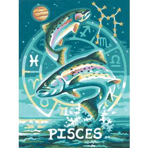 Раскраска Schipper Знаки Зодиака Рыбы (9390671) лонгслив printio знаки зодиака рыбы