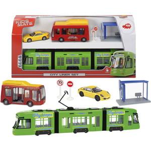 Игровой набор Dickie Городской транспорт (3829001)