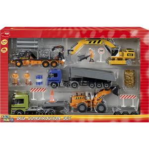 Подробнее о Набор машинок Dickie (3314557)* dickie строительная техника 3314557