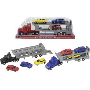 Трейлер Dickie с 3 машинками (3746000)