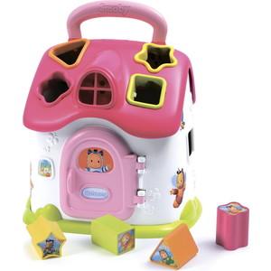 Развивающая игрушка Smoby домик сортер со светом и звуком (110401) smoby игрушка блендер tefal smoby