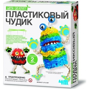 Творчество 4M Пластиковый чудик (00-04580)